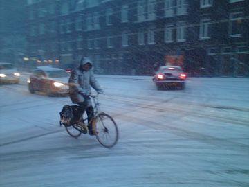 Winter in Amsterdam van Philip Nijman