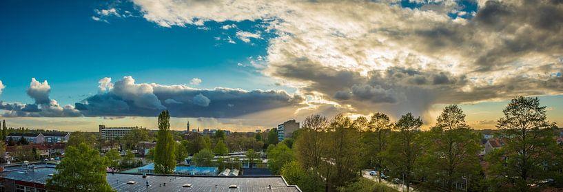 Panorama van Amersfoort van Vincent van den Hurk