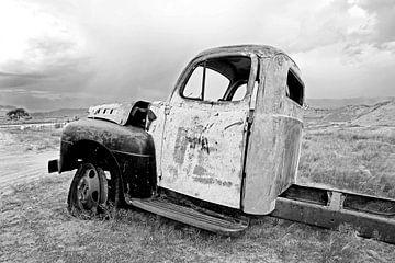 Autowrak in Namibië von Jan van Reij