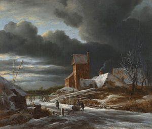 Winterlandschap, Jacob Isaacksz. van Ruisdael