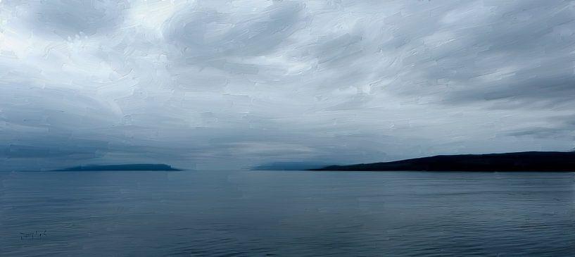 Meereslandschaft Schottland von Frans Jonker