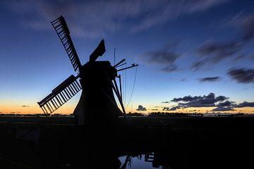Windmühle im Dunkeln von Hannon Queiroz