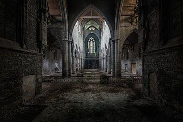Dunkle Kirche von Roman Robroek