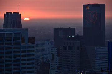Rotterdam in de ban van de Troonswisseling van Marcel van Duinen