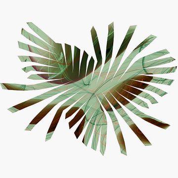 Abstracte palmblad van Christine Nöhmeier