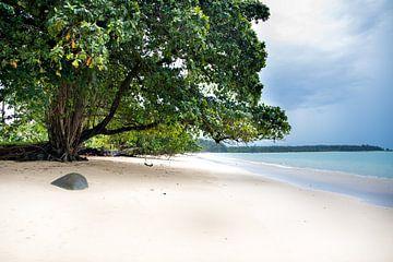 Thailand weißer Sandstrand von Lindy Schenk-Smit