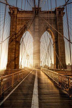 Brooklyn Bridge NewYork van Munich Art Prints