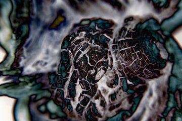 Abstractie van Ding #018 van Peter Baak