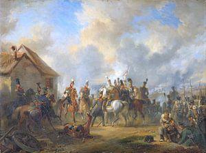 De Slag bij Bautersem, Nicolaas Pieneman van Marieke de Koning