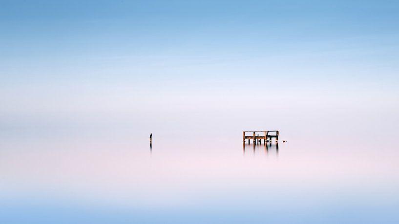 Plongeoir en bois van Arnaud Bertrande