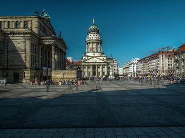 Gendarmenmarkt Berlin van Marc J. Jordan