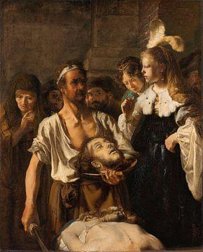 Salome ontvangt het hoofd van Johannes de Doper, Rembrandt Harmensz. van Rijn