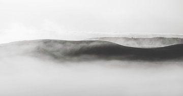 Paysage en noir et blanc sur Marina de Wit