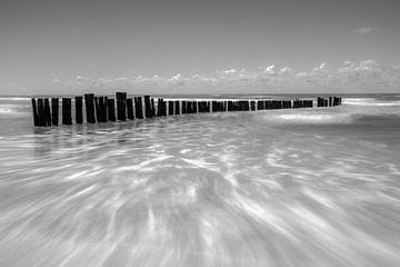strepen in zee van Peter Heins