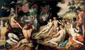 Cornelis Cornelisz. van Haarlem. Huwelijk van Peleus en Thetis
