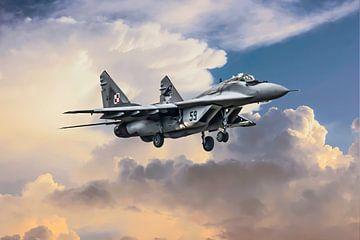 Mikojan-Goerevitsj MiG-29 van Gert Hilbink