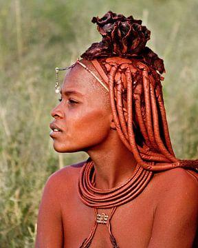 Himba vrouw von Jan van Reij