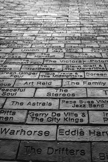 Wall of Fame at the Cavern Club in Liverpool