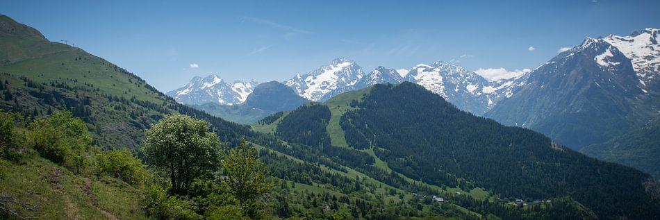De franse alpen van Marco Bakker
