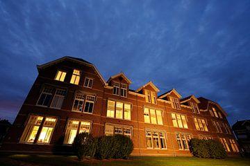 Het Tibeert gebouw op de University College Campus in Utrecht von Donker Utrecht