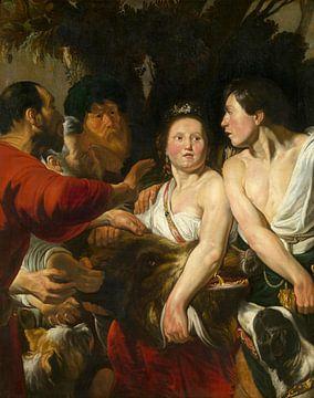 Meleager und Atalanta, Jacob Jordaens