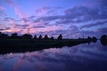 purple evening van Johanna Varner