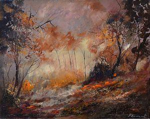 Herfst van pol ledent