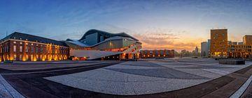 Het Chassé Theater bij zonsopgang van Martijn Mureau