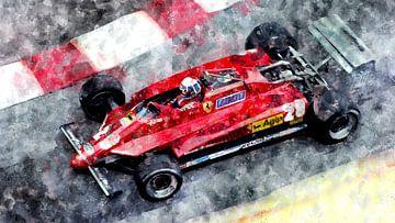 Didier Pironi, Ferrari von Theodor Decker
