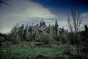 Gezicht op Chateau Noisy van