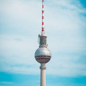 Televisietoren in Berlijn van Martin Wasilewski