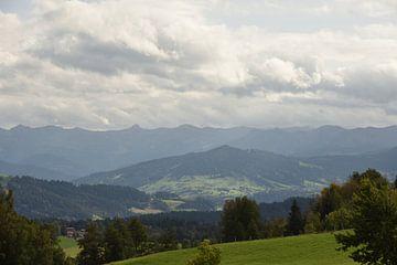 Alpenblick von Philipp Klassen