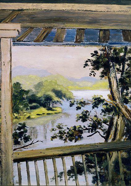 Louis Eilshemius-Balkon, Delaware Water Gap von finemasterpiece
