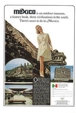 Mexiko Werbung 60er Jahre von Jaap Ros