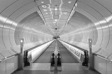 Die U-Bahnstation Wilhelminaplein in Rotterdam von MS Fotografie | Marc van der Stelt