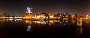 Panorama molen Haarlem van Daan Kloeg