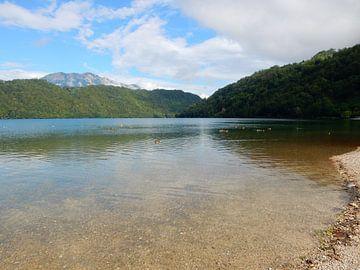 Lago di Levico Italië van Joke te Grotenhuis