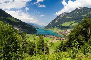 Uitzicht Zwitserland von Dennis van de Water