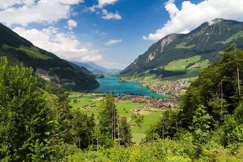 Uitzicht Zwitserland van Dennis van de Water