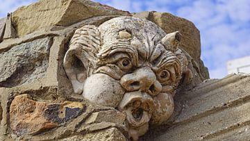 Stenen duivelsgezicht van Babetts Bildergalerie