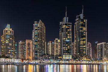 Skyline Dubai Marina von Jeroen Kleiberg