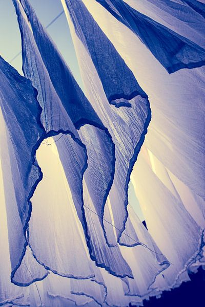 lakens in de wind van Paul Piebinga