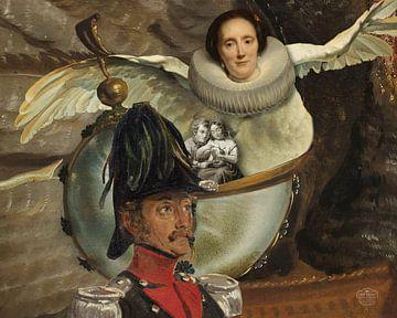 Familie in einer Nautilus-Schale von Nop Briex