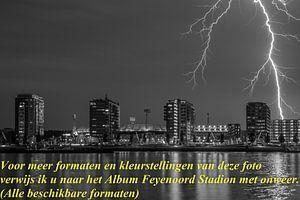 Feyenoord Stadion verwijzing naar album onweer