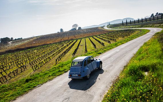 Cruisen met een 2CV in de Provence Frankrijk