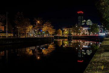 Leeuwarden bei Nacht von Claudia De Vries