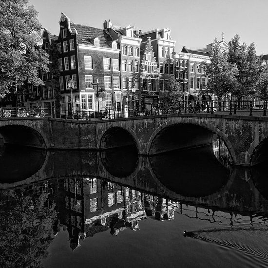 Keizergracht Amsterdam von Tom Elst