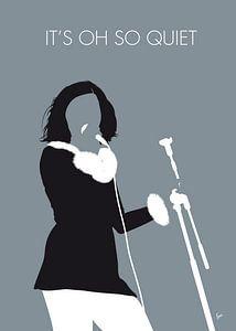 No187 MY Bjork Minimal Music poster van