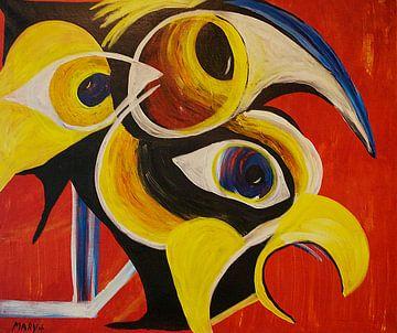 Vogels 2 sur Mary Pedersen