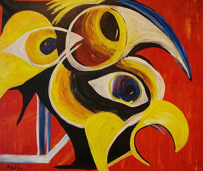 Vogels 2 van Mary Pedersen